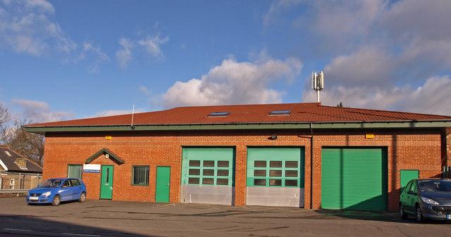 Ambulance Station, Sheriff Hill