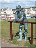 NX3343 : Port William Sculpture by JThomas