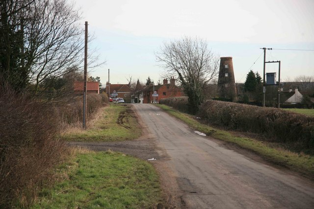 Caunton Village ahead