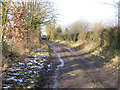 TG2529 : Heath Road, Felmingham, Norfolk by Rodney Burton