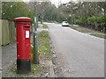 TQ2256 : Post box on The Avenue, Tadworth by Stephen Craven