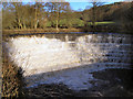 SJ9791 : River Etherow, the weir by David Dixon