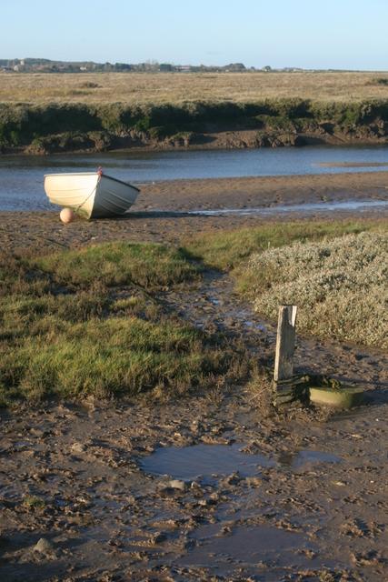 Low tide, Blakeney harbour