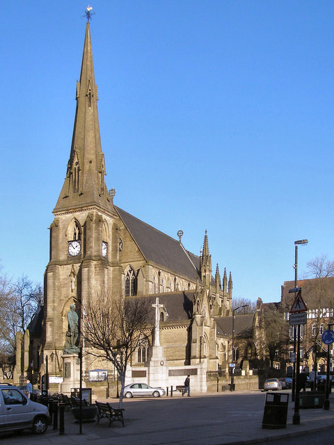 Bury Parish Church. St Mary the Virgin