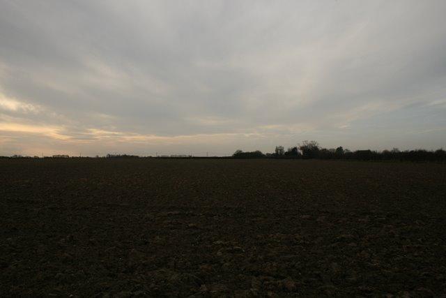 Farmland, south of Happisburgh