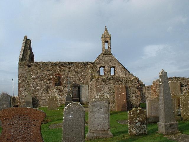 Pitsligo Old Church, Peathill