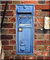 SJ6809 : Redundant Victorian Post Box by Gordon Cragg