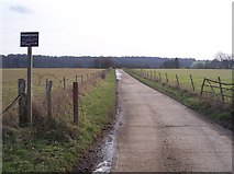 TQ5344 : Cyclepath Route 12 to Well Place Farm by David Anstiss