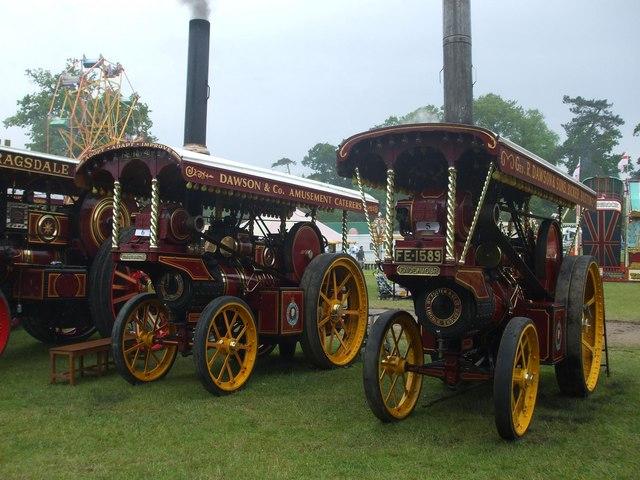 Showmans engines at Strumpshaw