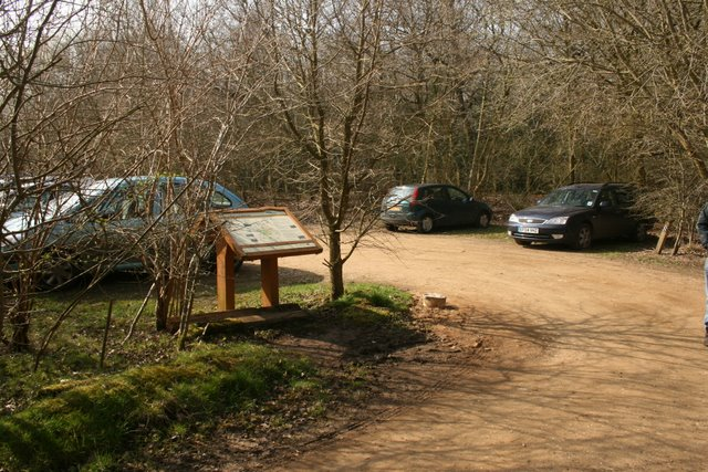 Car park for the Pingo Trail