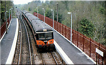 O0438 : Push-pull train at Clonsilla by Albert Bridge