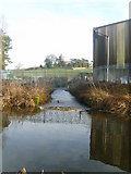SD5383 : Canal Feeder, Crooklands by Michael Graham