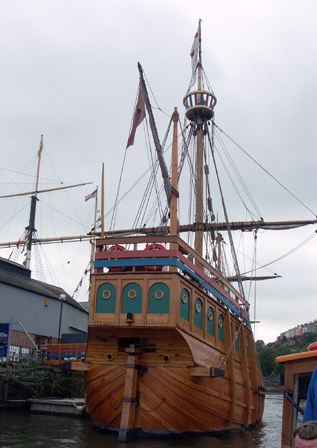 Stern view of the Matthew