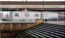 "J3474 : ""Temporary"" offices, Belfast by Albert Bridge"