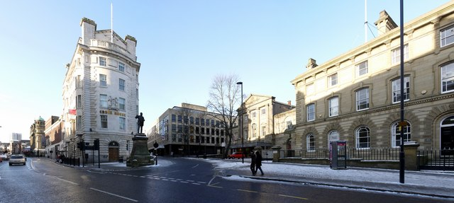 Junction of Westgate Road and Fenkle Street