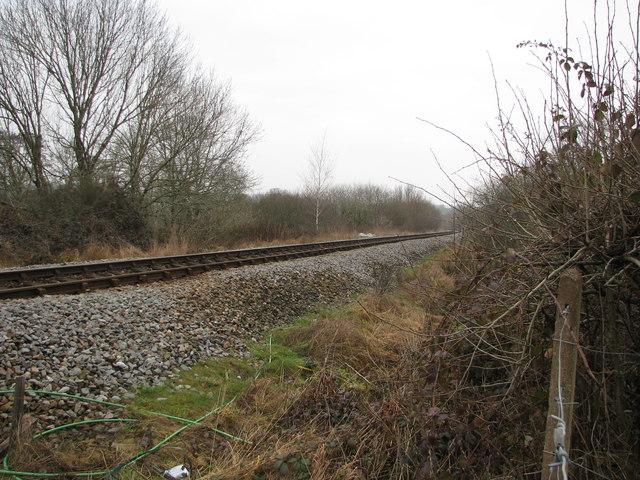 The Tarka Line towards Barnstaple