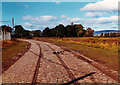 NS5266 : Tramlines, Old Govan Road, 1977 by David Douglas