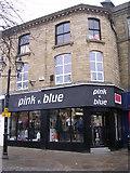SE0641 : pink vs blue - Low Street by Betty Longbottom