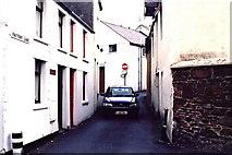 SC2484 : Peel - Factory Lane towards Chapel Lane by Joseph Mischyshyn