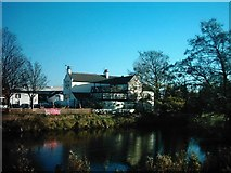 SK3536 : The Bridge Inn Public House in Little Chester (Chester Green) Derby by Eamon Curry