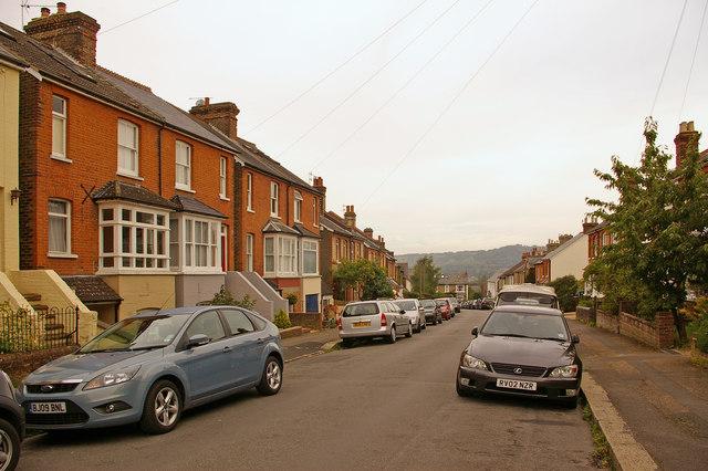 Cornfield Road by Ian Capper