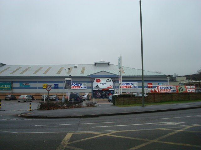 Sports Direct, Orpington Retail Park, St © Stacey Harris