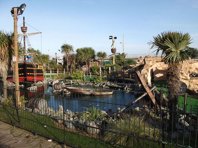 Pirate's Pool, Great Yarmouth seafront