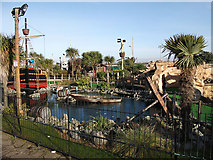 TG5307 : Pirate's Pool, Great Yarmouth seafront by John Rostron