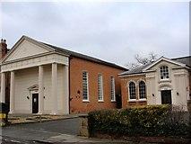SP2055 : Baptist church by Colin Craig