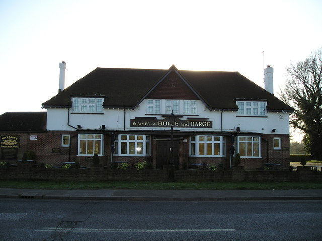 The Horse and Barge Pub, Harefield