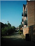 SK3436 : Brook Walk from Ford Street, Derby by Eamon Curry