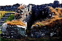 SC2484 : Peel Castle interior - View of garrison kitchen area by Joseph Mischyshyn