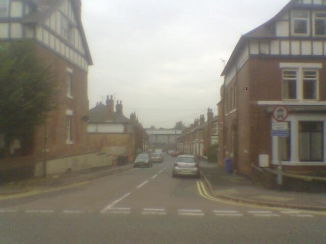 Sudbury Street from Uttoxeter New Road, Derby