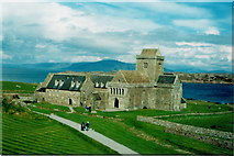 NM2824 : Iona Abbey by Richard Law