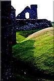 SC2484 : Peel Castle interior - Building and round tower by Joseph Mischyshyn