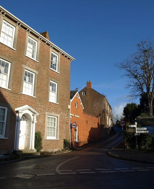 Foot of St Michael's Hill, Milverton