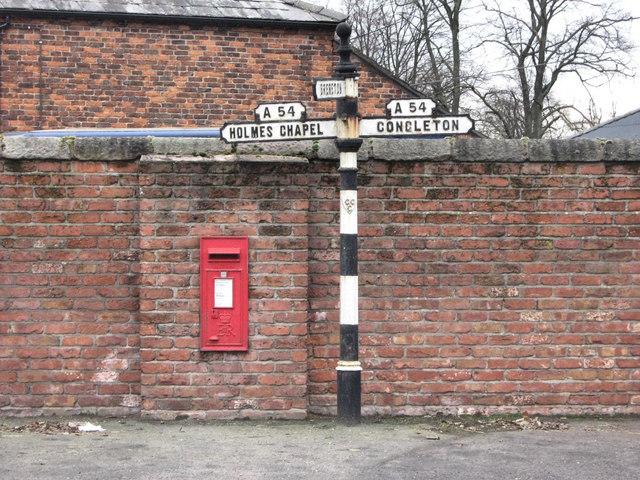 Signpost, Brereton Heath