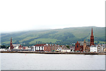 NS2059 : General view of Largs by Peter Langsdale