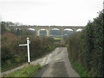 SY3192 : The Cannington Viaduct by Sarah Charlesworth