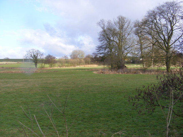 Fields looking towards White House Farm
