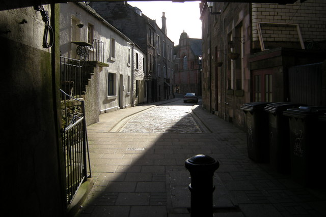 View of Osnaburg Street, Forfar
