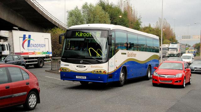 Goldliner coach, Belfast