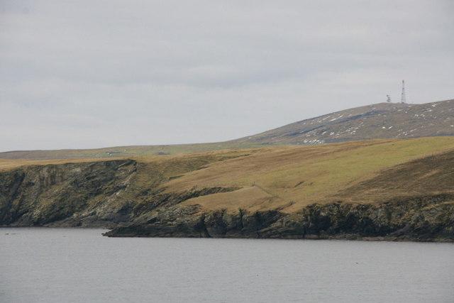 Coast of Cumlewick Ness