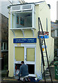 SW5140 : Repainting the Cornish Riviera Holidays office, St Ives by Andy F