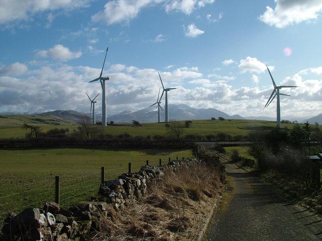 Wind farm, Wharrels Hill