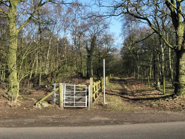 South-East corner of Brereton Heath Country Park