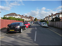 SZ0894 : Bournemouth : Winton - Library Road by Lewis Clarke