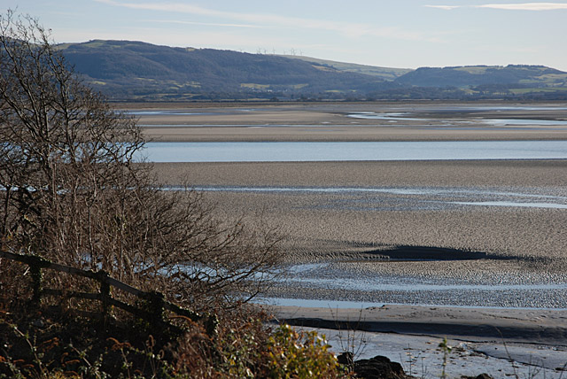 The Dyfi estuary at Aber-Tafol