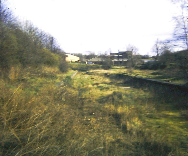 Halesowen Station (remains)