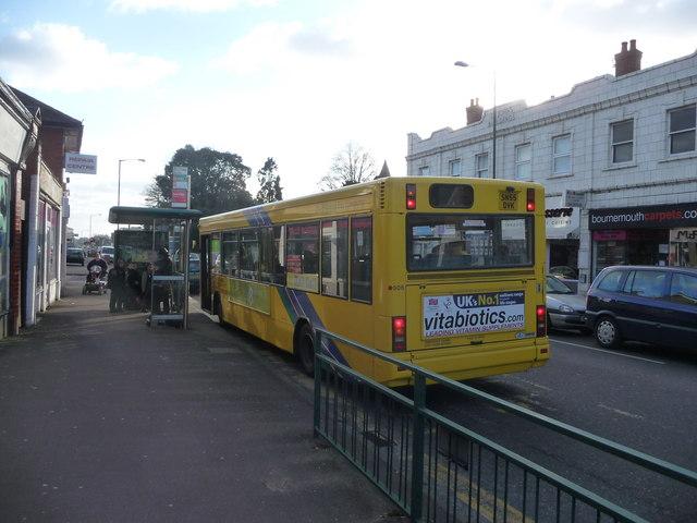 Bournemouth : Moordown - Wimborne Road Bus Stop